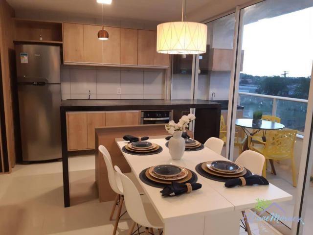 Apartamento à venda, 73 m² por R$ 288.115,00 - Centro - Eusébio/CE - Foto 4