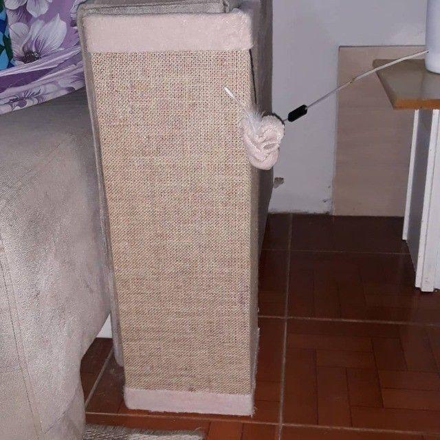 Arranhador protetor sofá ou cama, tela dupla, Rosa - Foto 4