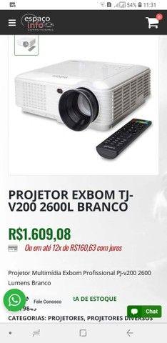 Projeto profissional Exbom tj v200 2600l