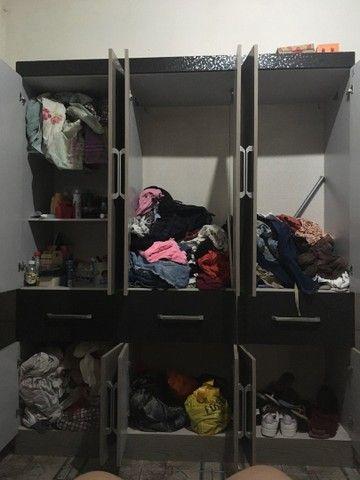 Guarda roupa casal - 6 portas e 3 gavetas  - Foto 2