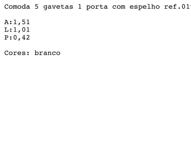 Cômoda 5 Gavetas Capelinha PROMOÇÃO RELÂMPAGO!! - Foto 3