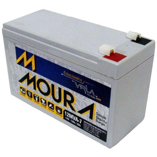 Bateria de Nobreak Nova 7Ah em 10x no cartão = - Foto 2