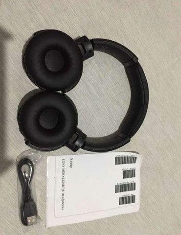 Fone Sony Mdr-xb650bt Extra Bass Bluetooth Original - Foto 3
