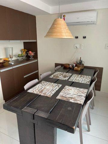 (RBA) Alugo apt. luxuoso, 240m², 3 Suítes, lazer, decorado e mobiliado, vista incrível! - Foto 12
