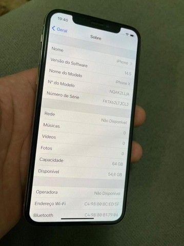 iPhone X 64gb Silver - Foto 3