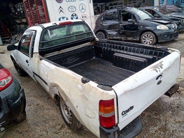 Ford Courier 1.6 flex 2010 2011 Para Retirada de Peças - Foto 2