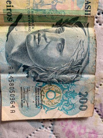 Cédula 200 Cruzeiros para colecionadores  - Foto 3