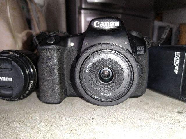 Kit Câmera Canon 60d - Foto 2