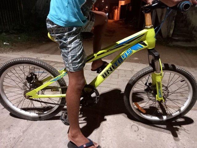 Bicicleta  com freio a disco