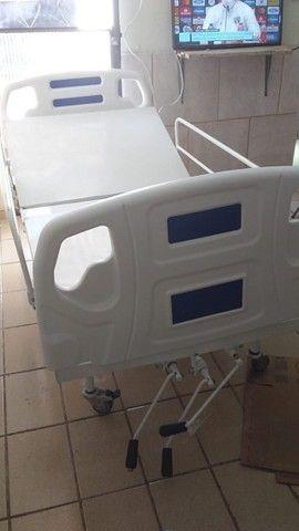 Cama hospitalar manual - Foto 4
