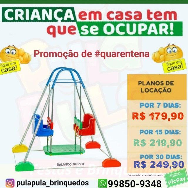 Brinquedos de playground em promoção por 7, 15 e 30 dias - Foto 2