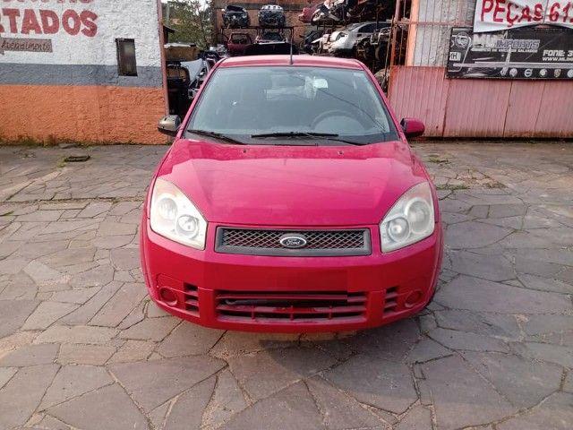 Sucata Peças Ford Fiesta zetec rocam completo compressor caixa - Foto 12
