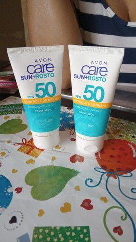 Protetor solar face