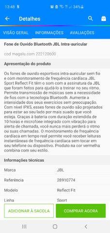 Fone JBL Esportivo - Foto 4