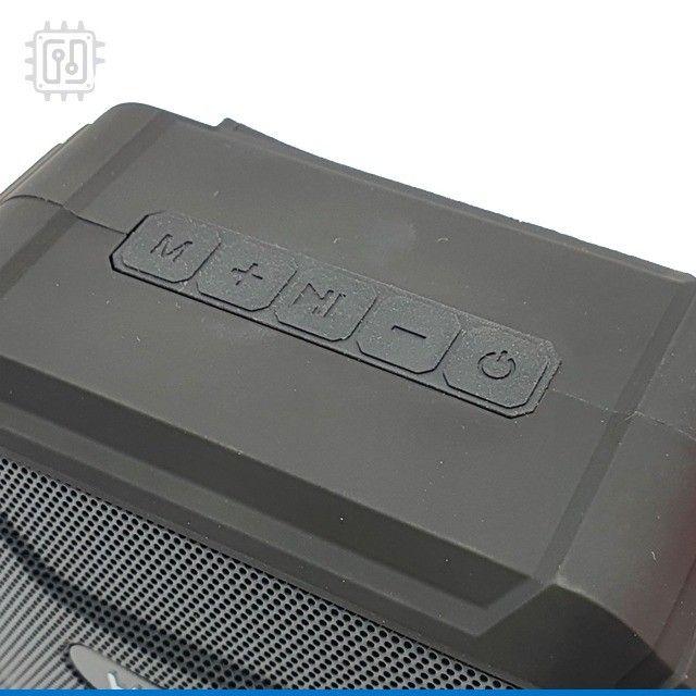 Caixa De Som Bluetooth Portátil Rádio Resistente À Água Som Potente - Foto 2