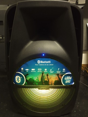 Caixa Amplificada 400w Mondial com Bluetooth, USB e Rádio FM  - Foto 4