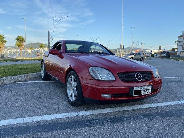 Mercedes SLK 230 - mecânica- vermelha - 1996/1997 - Foto 12