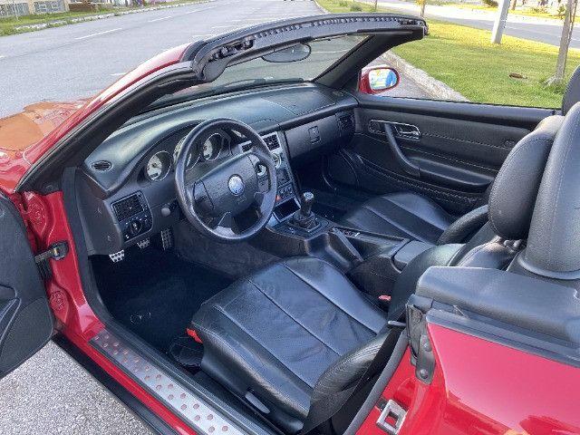 Mercedes SLK 230 - mecânica- vermelha - 1996/1997 - Foto 7