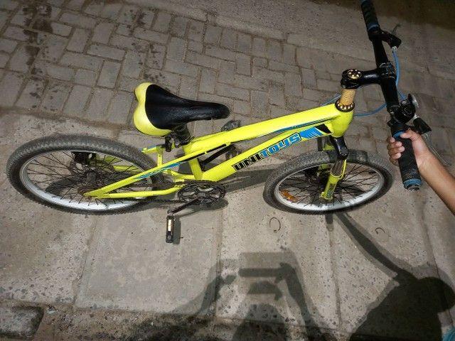 Bicicleta  com freio a disco  - Foto 3