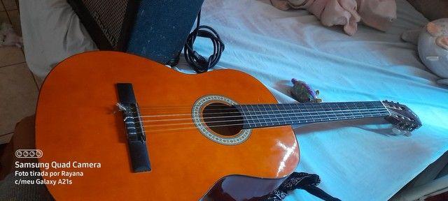 Violão e caixa cubo para violão  e guitarra  - Foto 5