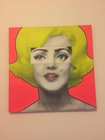 Quadro Marilyn Monroe - Objetos de decoração - Vila La Brunetti ...