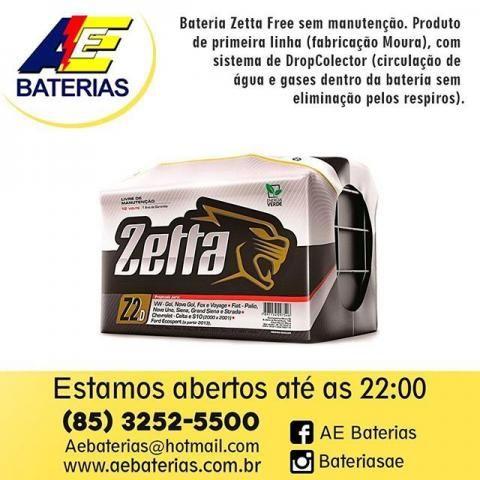 Bateria Zetta De Carro 60Ah 120,00