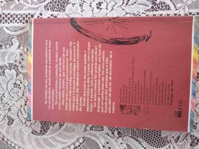 Livro Araponga, meu amor - Foto 2