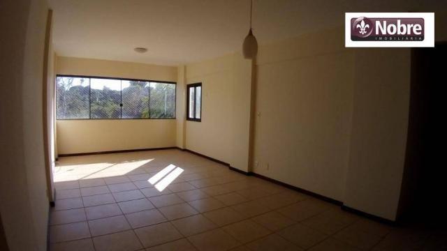 Apartamento com 3 dormitórios para alugar, 112 m² por r$ 1.405,00/mês - plano diretor sul  - Foto 6