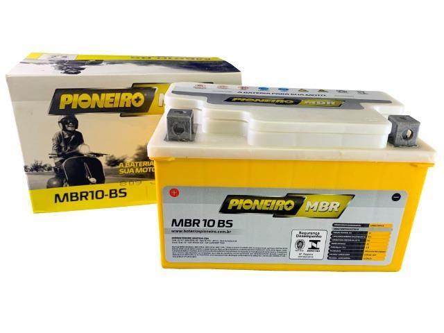 Bateria Pioneiro Mbr10bs Honda Cb 600 Hornet 2008 diante Cb 500 Cb 650f Yamaha Mt-09 15/16 - Foto 4