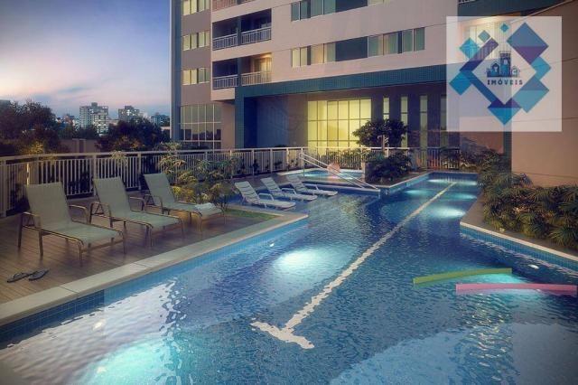 Apartamento com 3 dormitórios à venda, 68 m² - Benfica - Fortaleza/CE - Foto 6