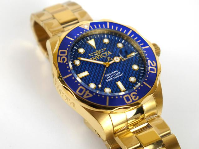 ceb530fb5fb Relógio Invicta  Pro Diver  14357 - Ouro 18k - em até 12x no cartão!