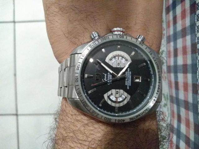 0794ebdde4e Relógio automático Tag heuer carrera Calibre 17 - Bijouterias ...