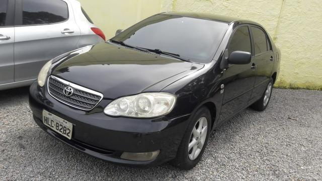 Corolla xli 1.8 aut banco couro - financio em até 48×