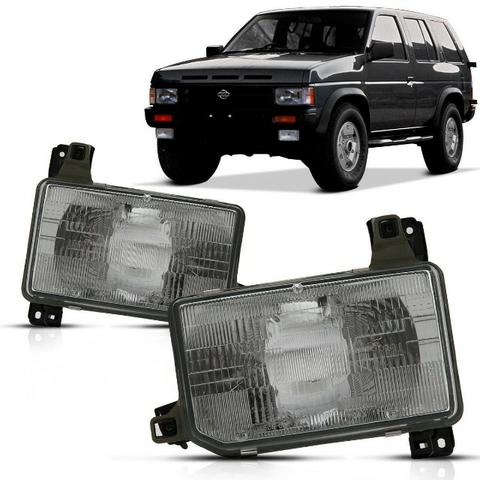Farol Cromado Nissan Pathfinder a partir 1991 a 1995 / Original
