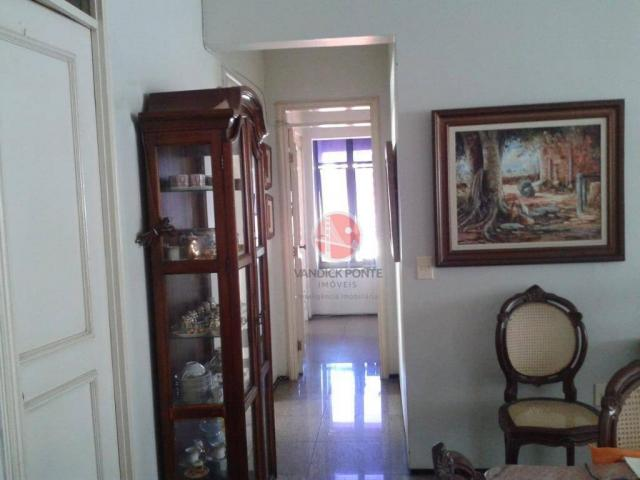 Apartamento com 3 dormitórios à venda, 150 m² por R$ 580.000,00 - Meireles - Fortaleza/CE - Foto 5