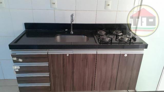 Apartamento com 3 dormitórios à venda, 60 m² por R$ 160.000 - total vile- Nova Marabá - Ma - Foto 3
