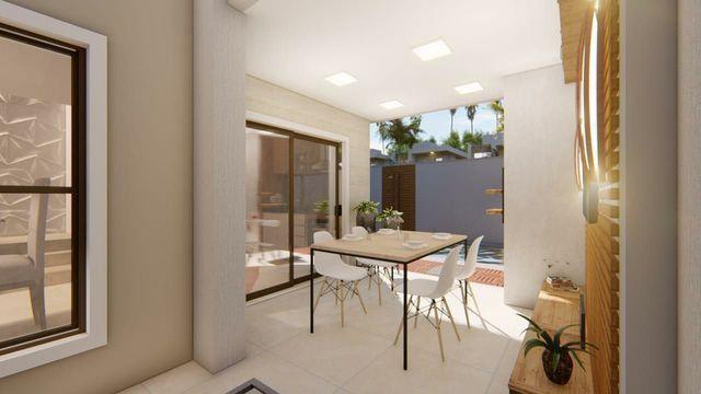 Casa de alto  padrão, 4 suítes,  3 vagas, rua privativa, lote 8 m de largura  - Foto 3