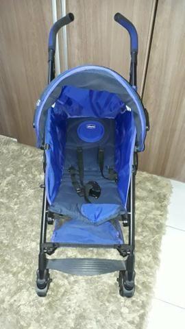 Vendo carrinho de bebê Chico liteway novinho
