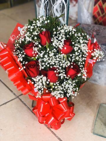 Flores buquês cestas - Foto 5