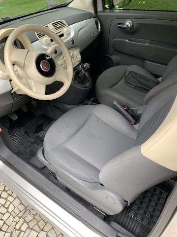 Fiat 500 cult 1.4 flex 2012 mecânico 2020 pago oportunidade - Foto 5
