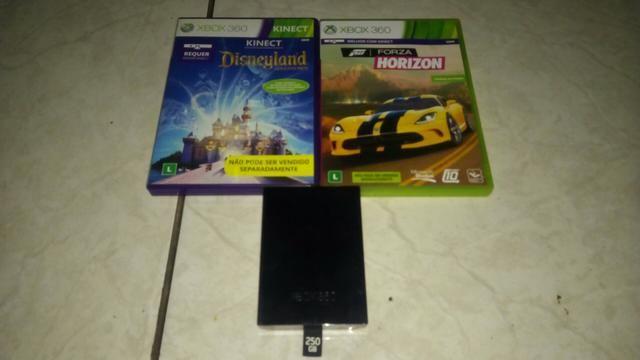 Kit Xbox360 ( Jogos + Hd250gb) veja descrição
