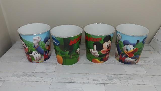 Potes do Mickey - Novos - sem uso - 04 peças - Foto 2