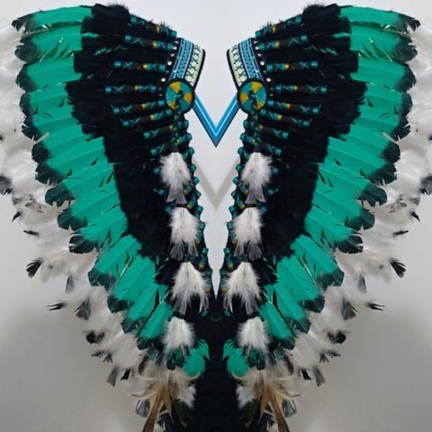 Penacho indígena / Fantasia - Foto 3