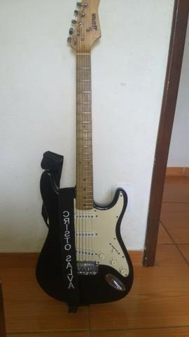 Vendo ou troco linda guitarra - Foto 4