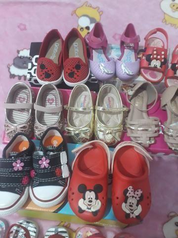 Lote de sapatos novos e usado - Foto 3