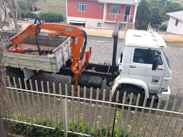 Munck, muck, muque, trado, perfuratriz, vw 13.150, vw, caminhão munck - Foto 14