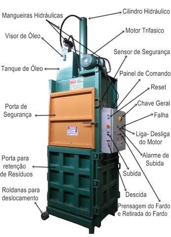 Prensas Hidráulicas Diversas para Fardos de Reciclagem - Foto 3