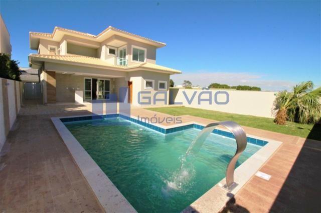 JG. Excelente / linda casa duplex no Boulevard Lagoa com 4 suítes!! - Foto 2