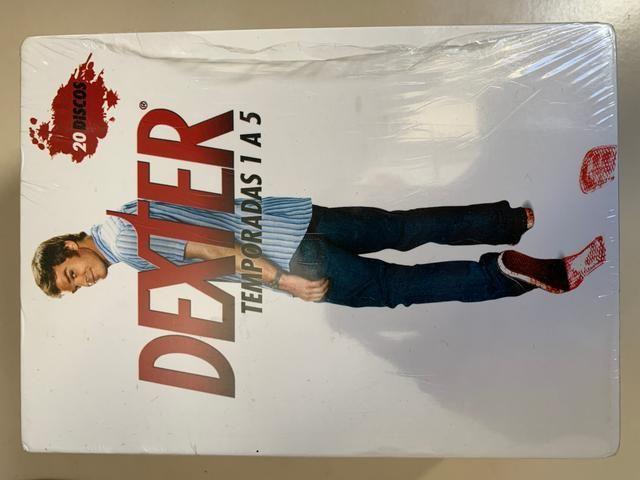 Box DVD Dexter 5 temporadas