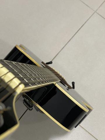Violão Elétrico Aço Condor + Bag Drumshop - Foto 2